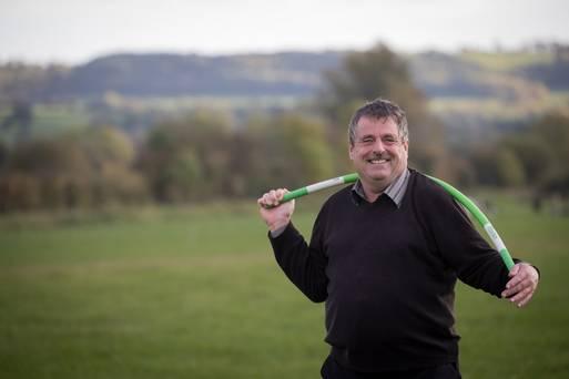 Richard Weldon with a ProFitstick
